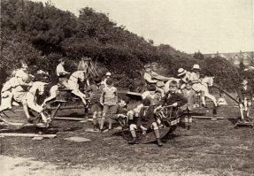Egerton Park, Rocking Horses c1929