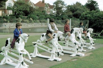 Egerton Park Rocking Horses c1970