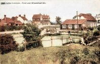 Little Common, Pond & Wheasheaf Inn c1910 2