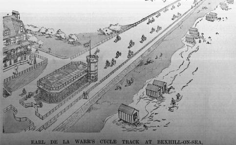 Bexhill Cycle track c1902