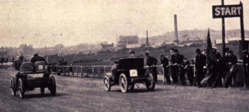 Bexhill start of the 1902 races 1