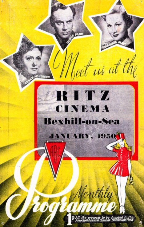 CIN-004 - Ritz programme, Buckhurst Road, January 1950
