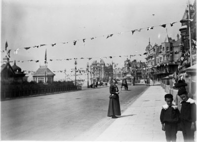 East Parade, Bexhill Photos from Miss Cresswell c1900 3