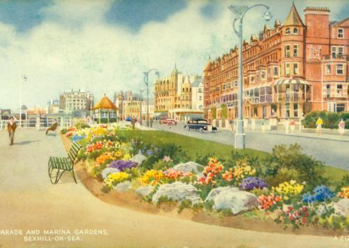 East Parade & Marina Gardens 1950s