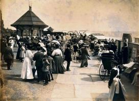 East Parade bandstand, c1905