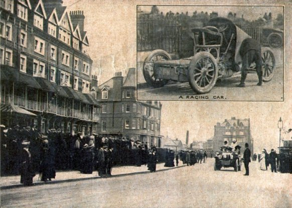 Motor Races 1902 Bexhill