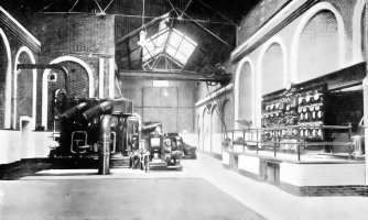 SHO-004 - Bexhill Electric Light Works, Ashdown Road July 1904