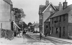 Sidley High Street c1906