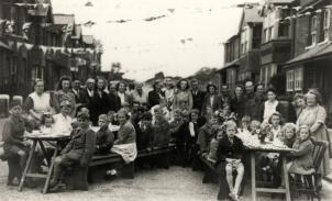 Sidley Victory Party 1945