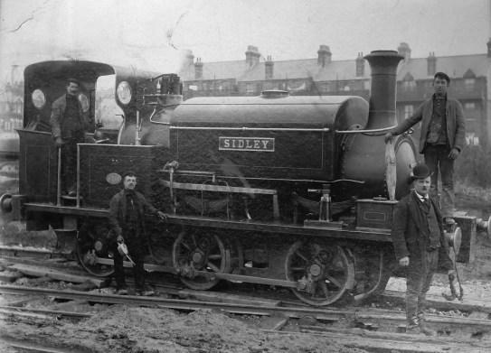 Sidley locomotive c1898
