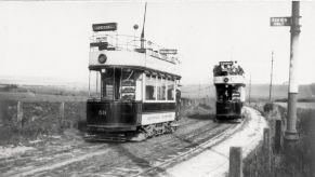 Hastings to Bexhill tramway c1925