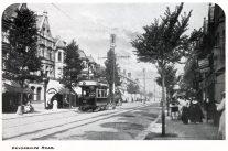 Tram in Devonshire Road - c1912