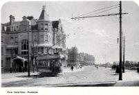 Tram on Marina c1912