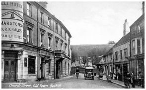 HOT-003 - Bell Hotel, Church Street, Old Town - c1925