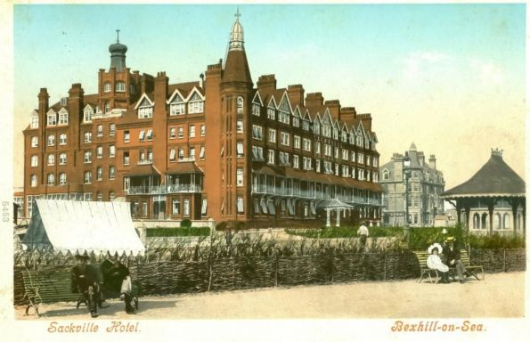 HOT-020 - Sackville Hotel, Bexhill - c1900