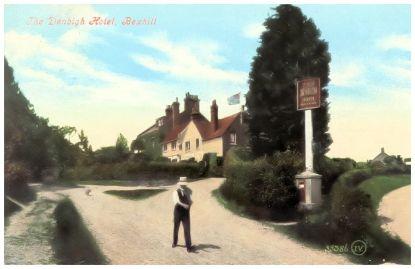 HOT-028 - Denbigh Hotel, Bexhill - c1908