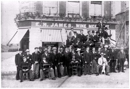 HOT-033 - The Castle Hotel, Bexhill - c1900