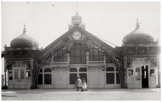 KUR-011 - Kursaal Frontage, c1900