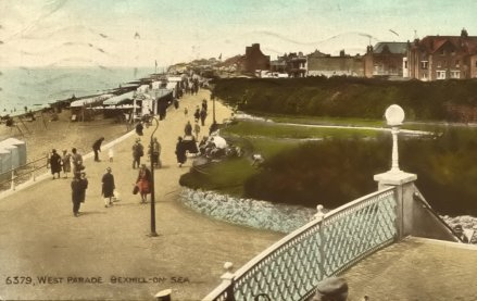 BWP-009 - West Parade, Bexhill - c1929