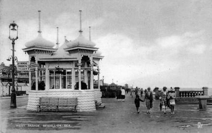 BWP-027 - West Parade Bandstand - c1925