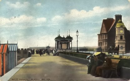 BWP-029 - West Parade & Oceana, Bexhill - c1910