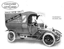 Tradesman's delivery van, Miller & Franklin
