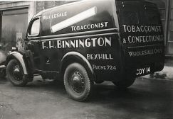 HO-018 - Binnington van