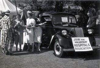 HO-022 - Ford 8 Hospital fundraising 1950s