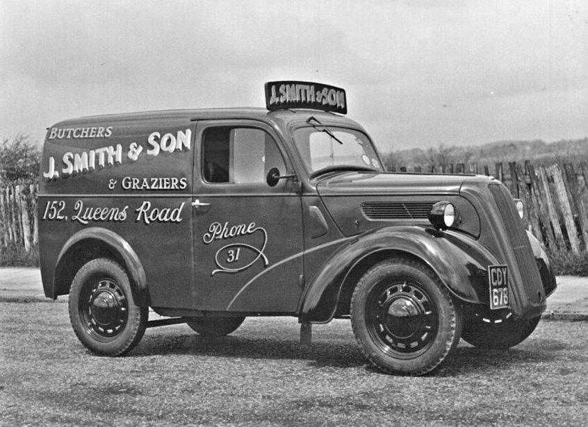 HO-036 - J. Smith's van Reg. No. CDY 678