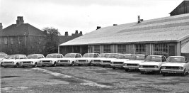 HO-057 - Hollingsworths line-up of Cortinas in the 1960s
