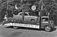 HO-059 - Hastings carnival car on lorry 1951