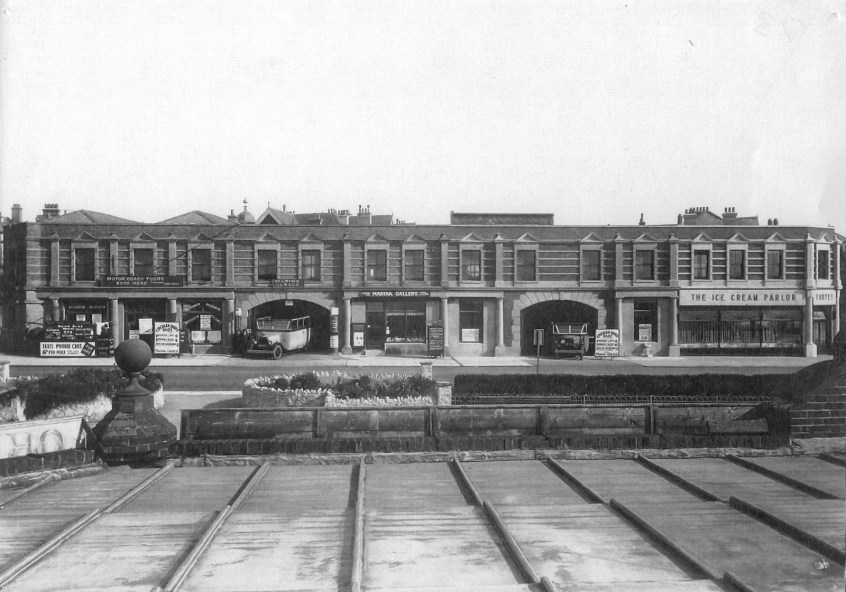 MG-009 – Marina Garage late1920s, early 1930s.