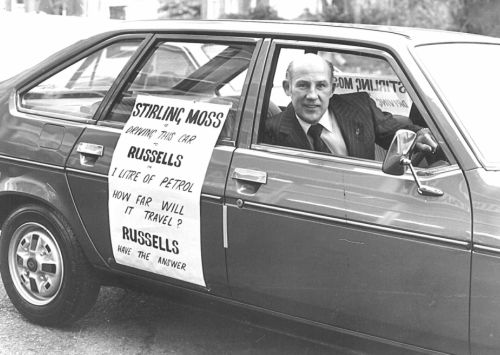RU-003 - Stirling Moss at Russells (27-12-1979)