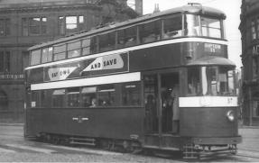 517 exLT2138, LUT369 serv 11 to Gipton 1950s