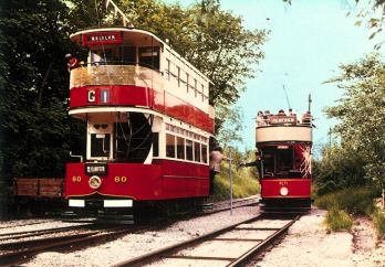 60 South African & 68 Paisley Dist Tramway b1919 @ Quarry Approach