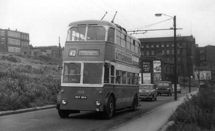 804 BDY804 service 42 to Greengates