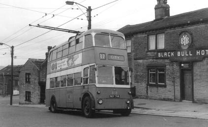 808 BDY798 service 37 to city 8-7-1961