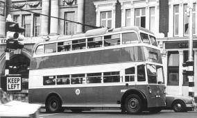 87 BDY810 serv to Loose in town centre ex-works