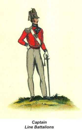 Captain - Line Battalions