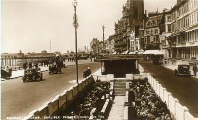 Carlisle Parade looking west 1930s