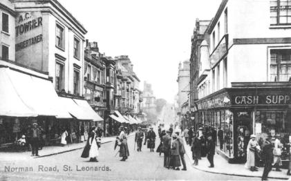 Norman Rd east end looking east, Edwardian