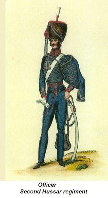 Officer - Second Hussar Regiment - 01