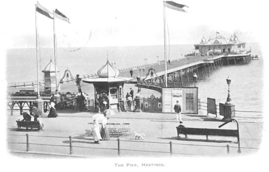 Pier from north-west pc 9-10-1903