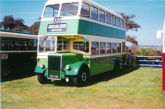 Southdown PD2 1956 RUF 186 Bus Rally Hastings 5-2005
