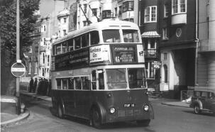 Trolley 15 AEC service 46A