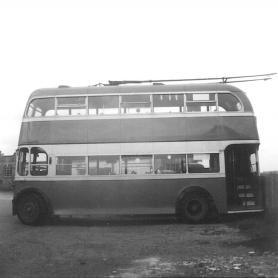 Trolley 51 LCD51 nearside @ Bexhill West 29-4-1967