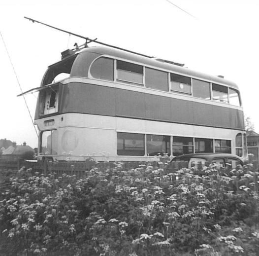 Trolley 51 LCD51 rear offisde 12-5-1967