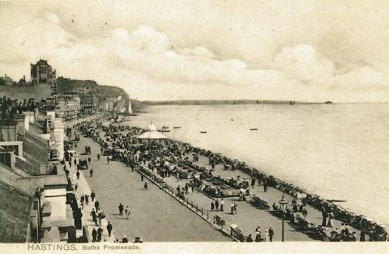 White Rock Parade looking east 21-9-1905
