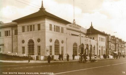 White Rock Pavilion from South-west (postcard) 8-6-1935
