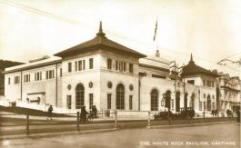 White Rock Pavilion from south-west